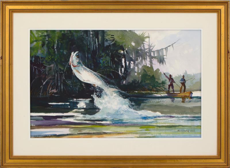 Everglades >> Sporting Watercolor Artist - Chet Reneson