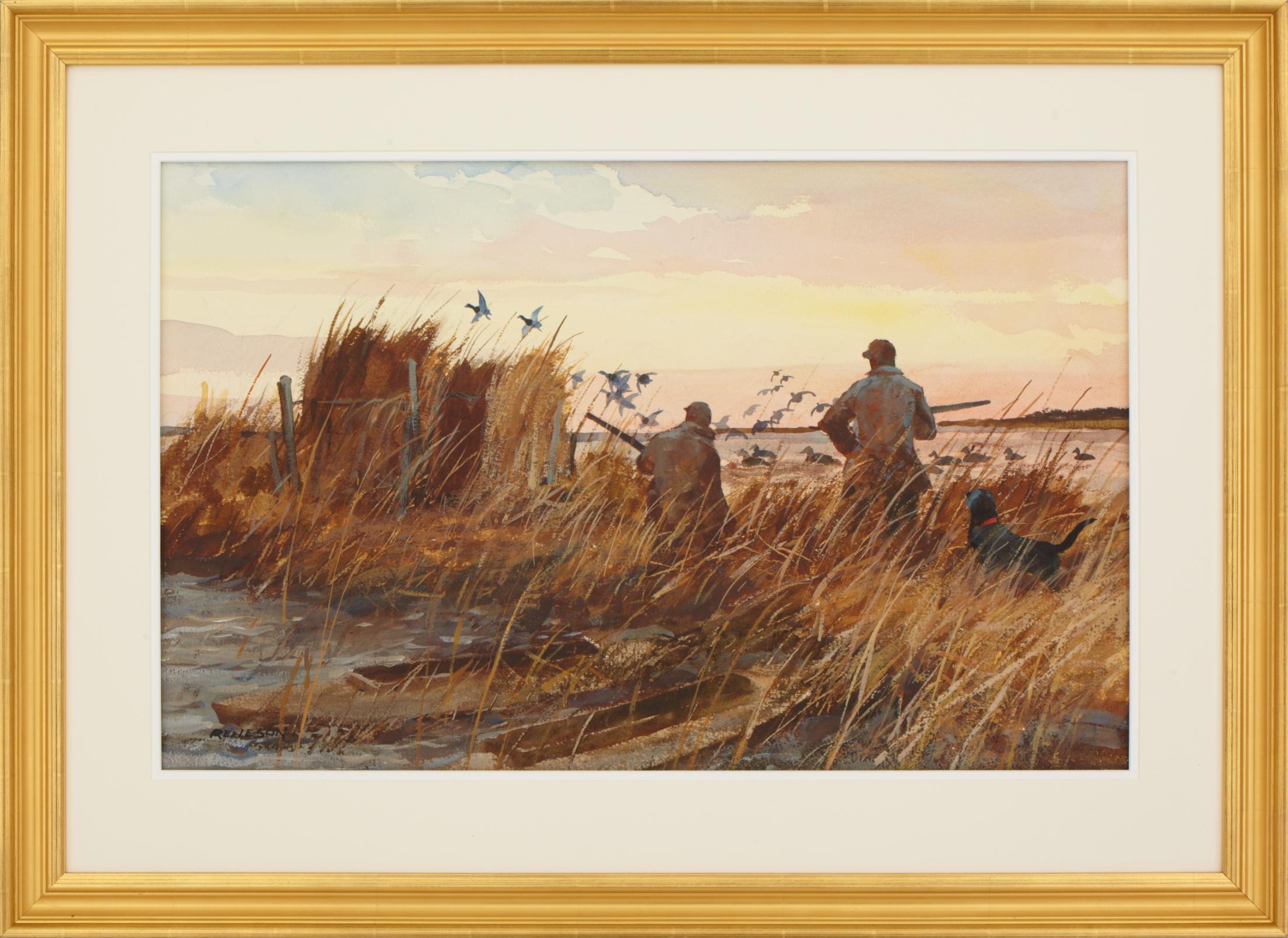 Sporting Watercolor Artist Chet Reneson